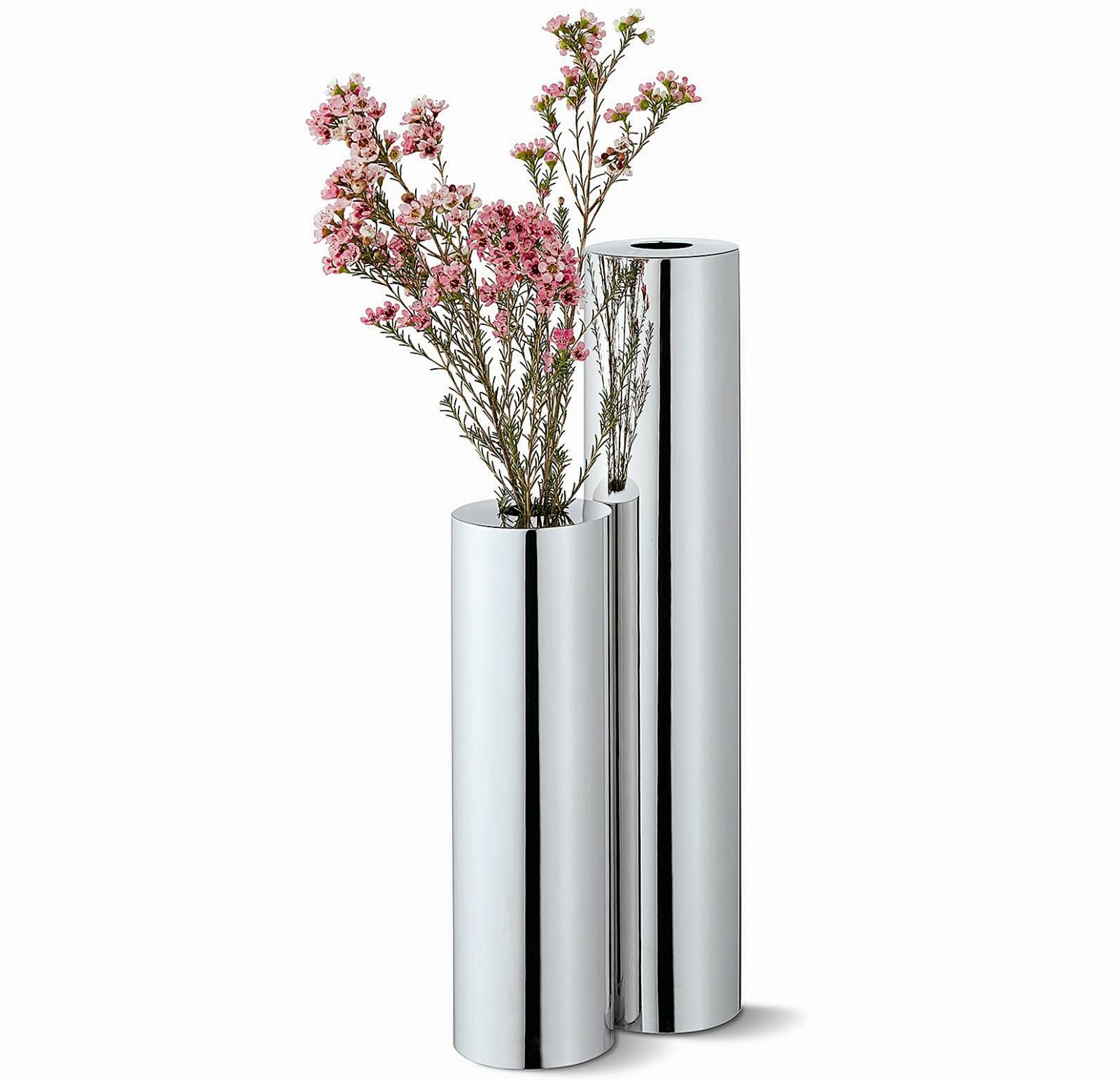 vase bodenvase verschiedene gr en edelstahl philippi base. Black Bedroom Furniture Sets. Home Design Ideas