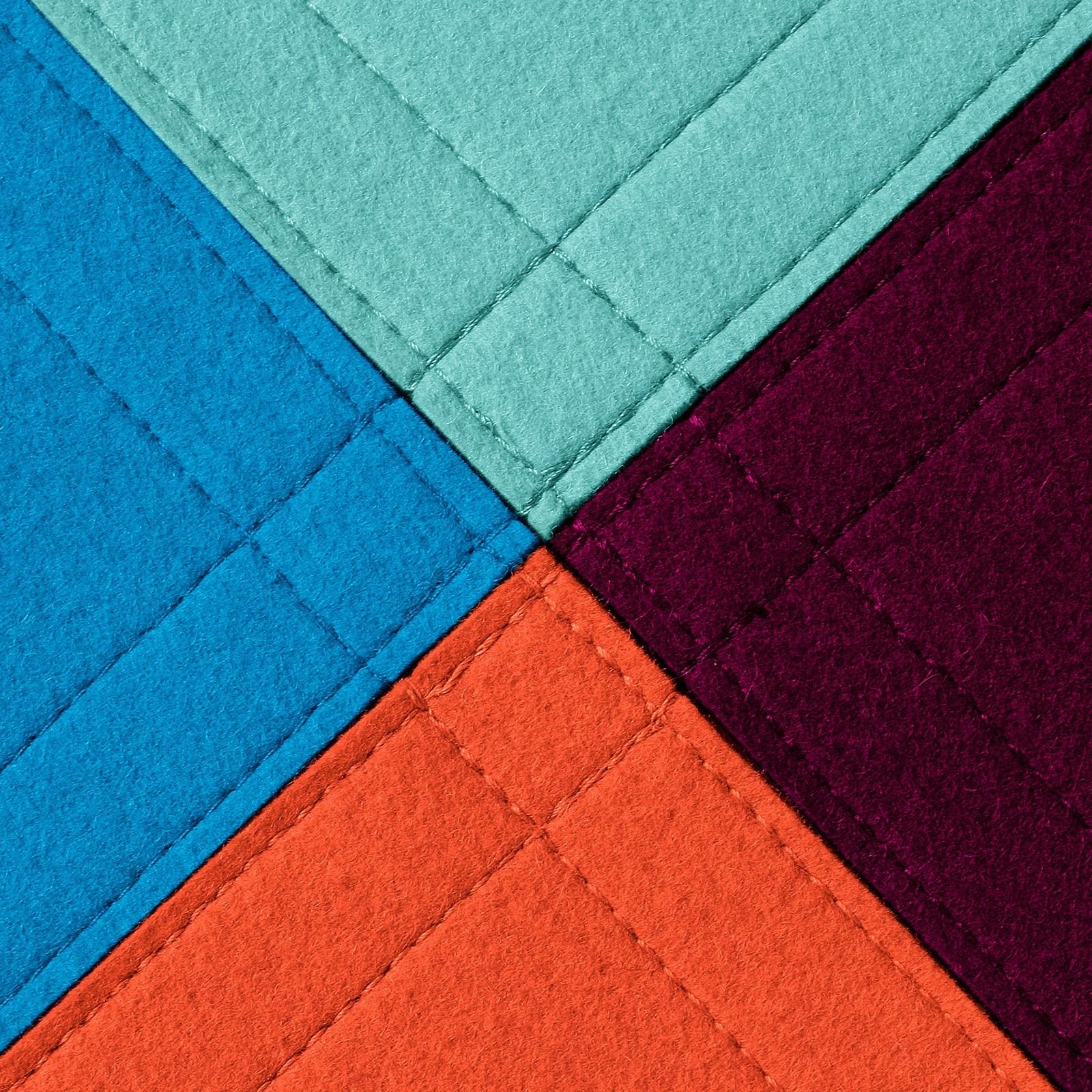 Filz Teppichfliese klettbare Fliesen verschiedene Farben
