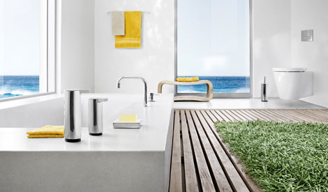 blomus pure spa produkte und accessoires f r das badezimmer trend e online shop. Black Bedroom Furniture Sets. Home Design Ideas