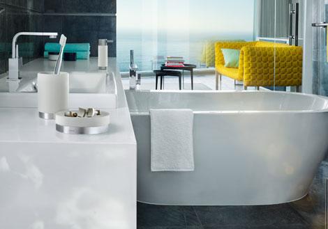 blomus ara badezimmer accessoires trend e online shop. Black Bedroom Furniture Sets. Home Design Ideas