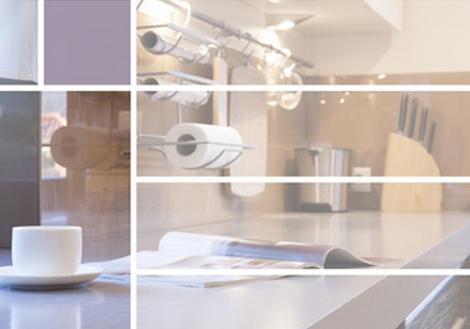 k chenrollenhalter rollenhalter f r die k che verschiedene farben. Black Bedroom Furniture Sets. Home Design Ideas