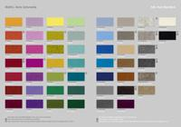 Die Farben - lässige Umhängetasche SEVENTY Filz mit Klettverschluss & Trageriemen viele Farben Hey Sign