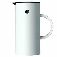 stelton Isolierkanne Thermoskanne 0,5 l WEISS