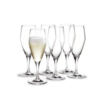 Holmegaard Perfection Champagnerglas 6 Stück 23 cl Design Tom Nybroe