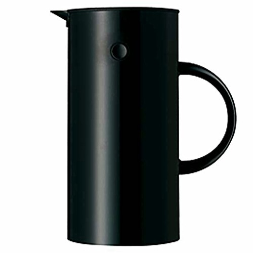 stelton isolierkanne thermoskanne 0 5 l schwarz. Black Bedroom Furniture Sets. Home Design Ideas