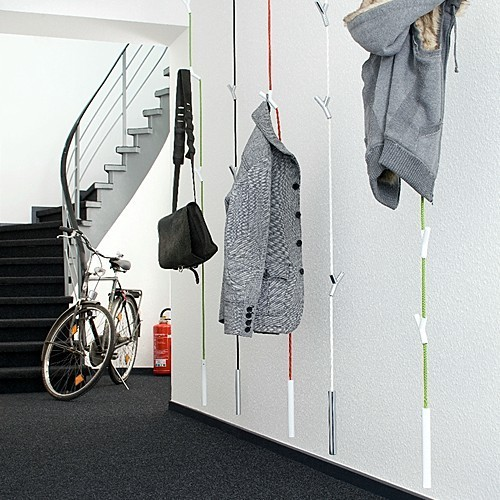 Authentics garderobe garderobenseil wardrope matt for Garderobe seil