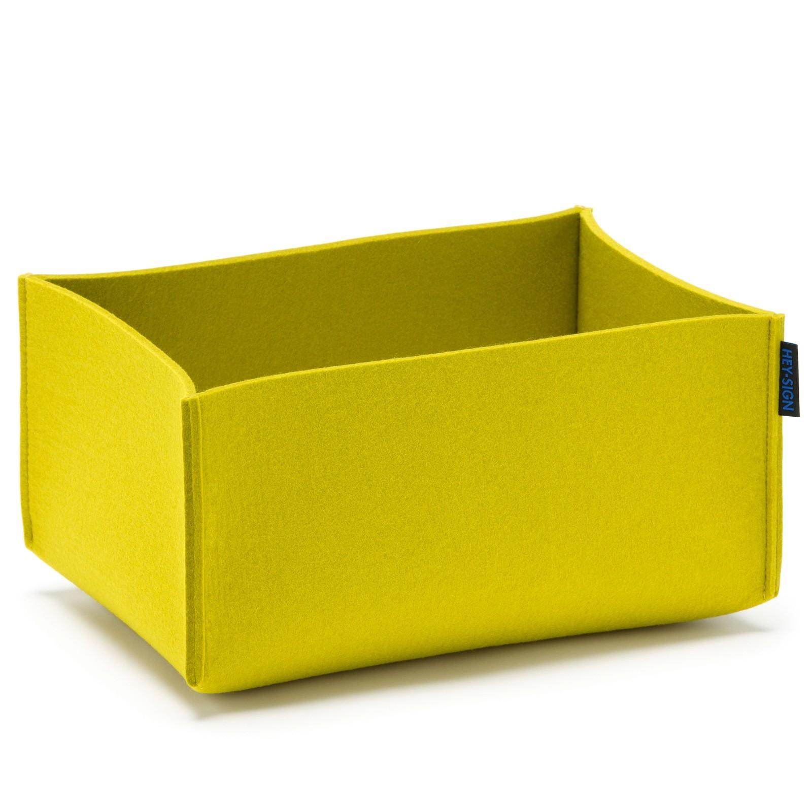 aufbewahrungsbox utensilienbox rechteckig 35x25x16 cm viele farben hey sign box. Black Bedroom Furniture Sets. Home Design Ideas