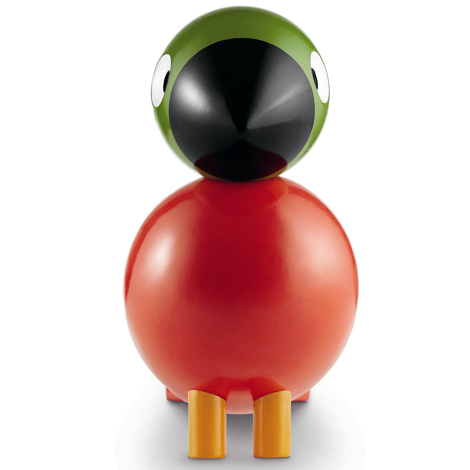 kay bojesen holzfigur singvogel pop buche lackiert rot. Black Bedroom Furniture Sets. Home Design Ideas