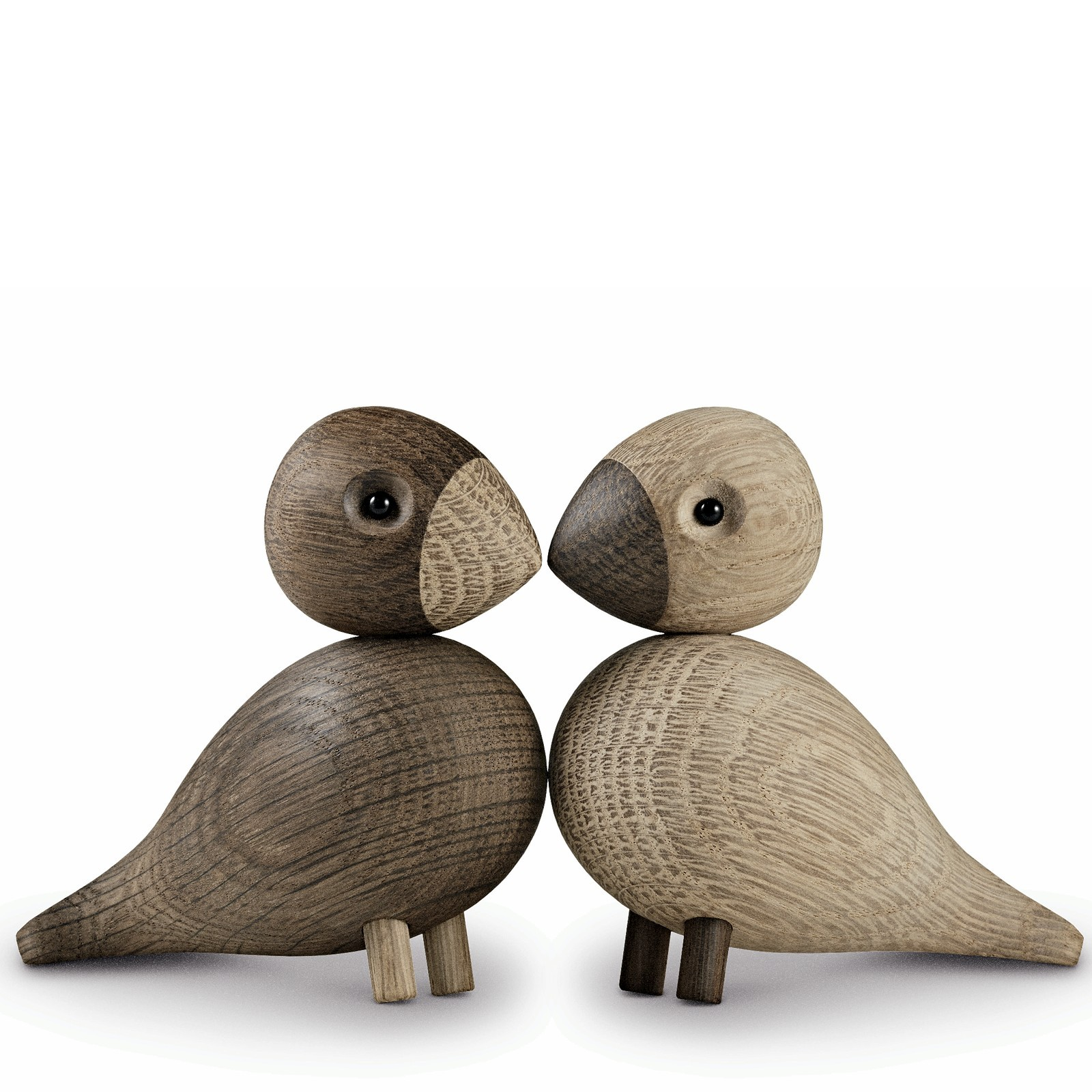 holzfigur vogelpaar unzertrennliche lovebirds 2 teilig kay. Black Bedroom Furniture Sets. Home Design Ideas