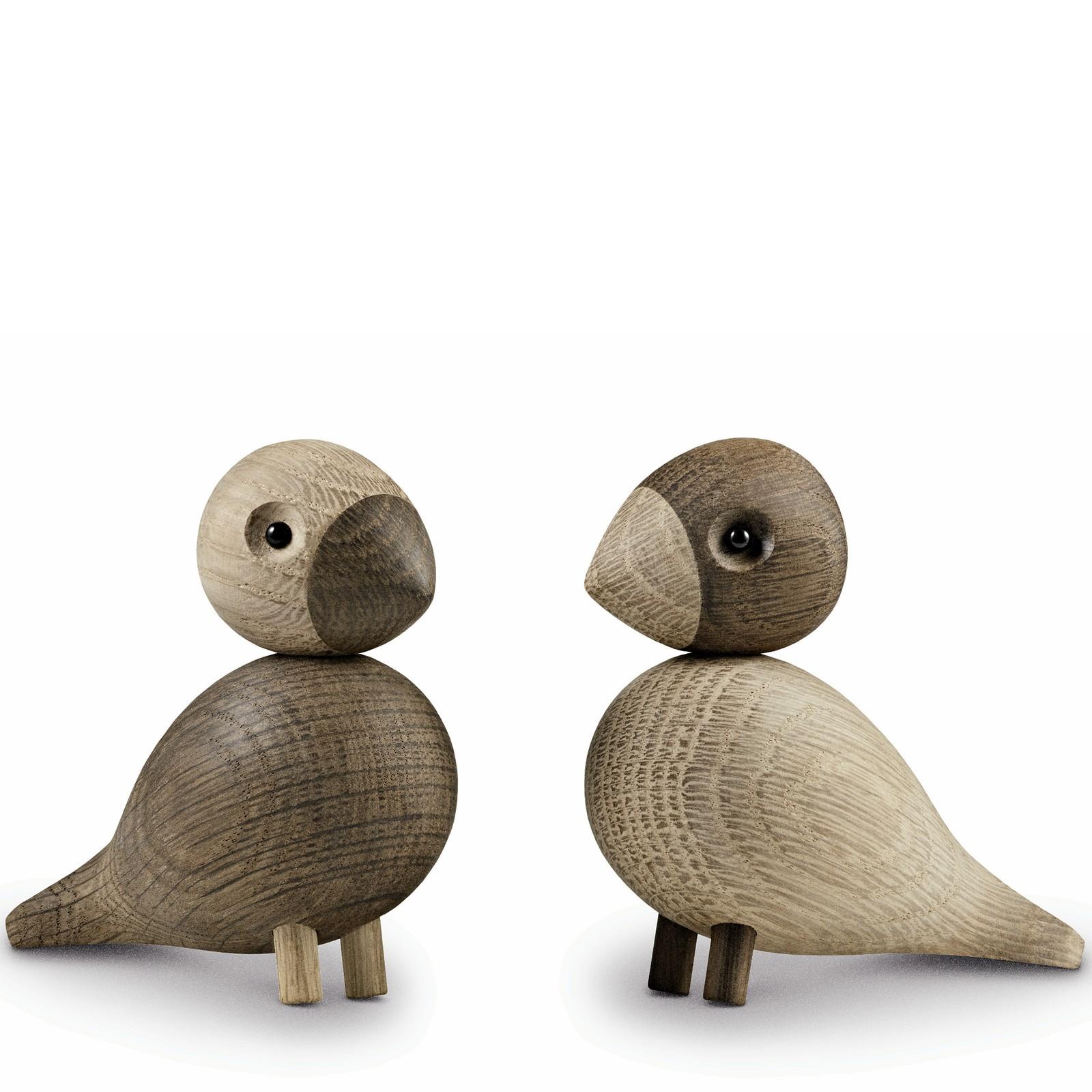 holzfigur vogelpaar unzertrennliche lovebirds 2 teilig kay. Black Bedroom Furniture Sets. Home Design Ideas