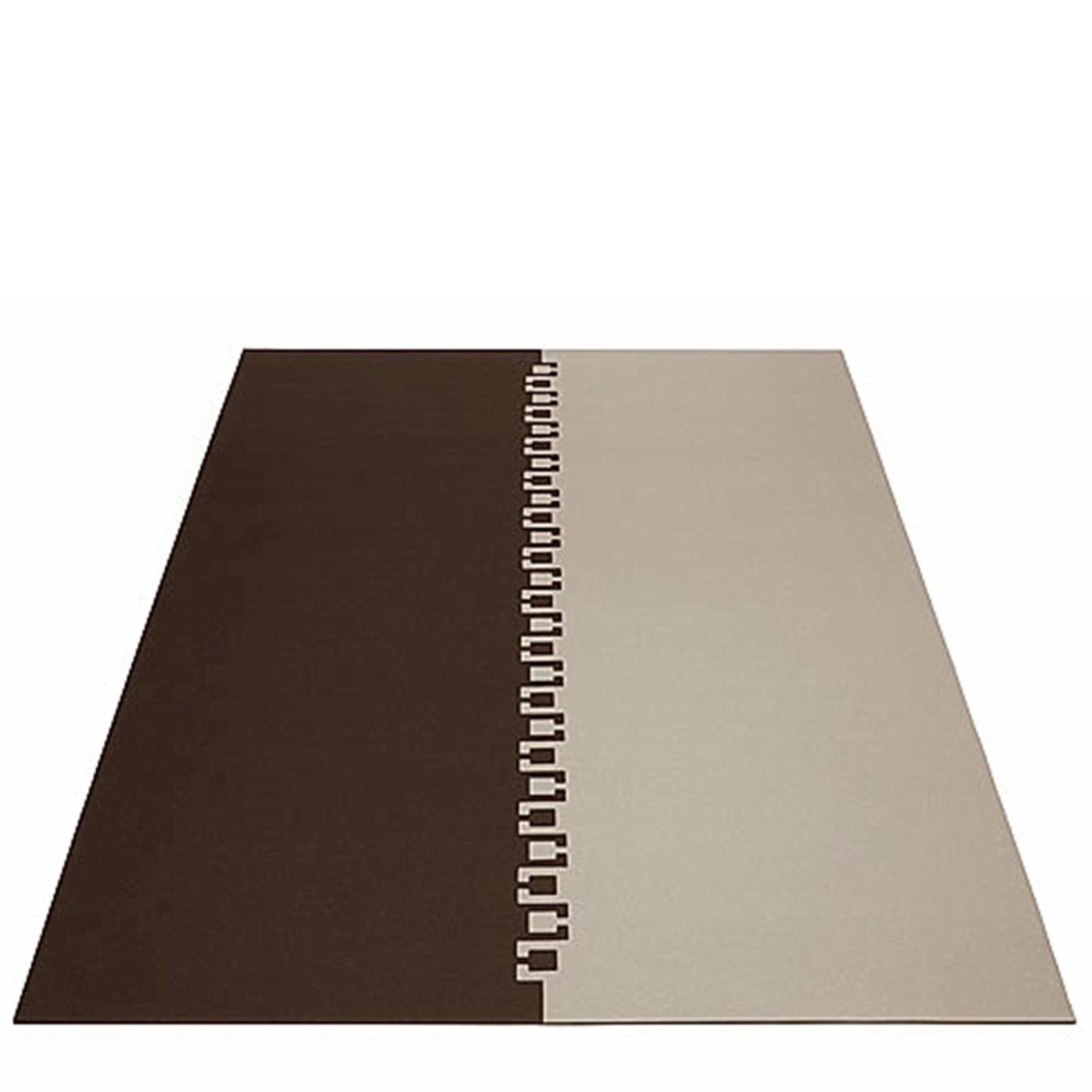 Teppichsystem Teppich rechteckig 2teilig viele Größen