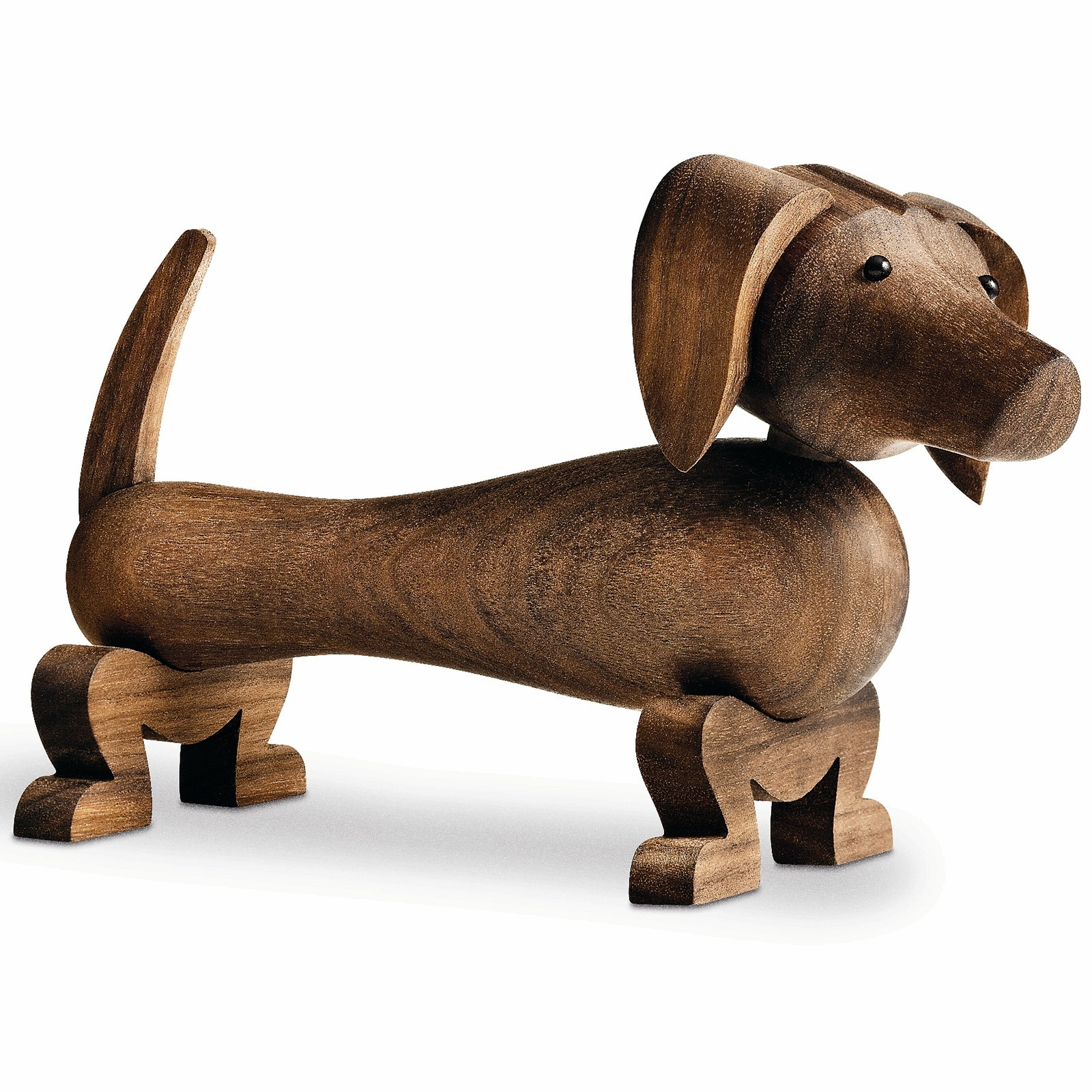 holzfigur dackel hund 10 5 cm kay bojesen hund. Black Bedroom Furniture Sets. Home Design Ideas