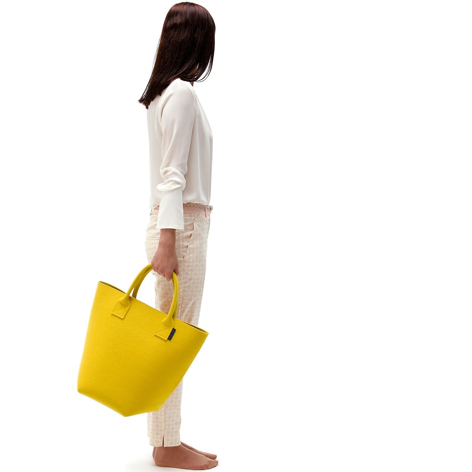einkaufstasche filz carry offene tasche mit tragegriffen verschiedene farben hey sign. Black Bedroom Furniture Sets. Home Design Ideas
