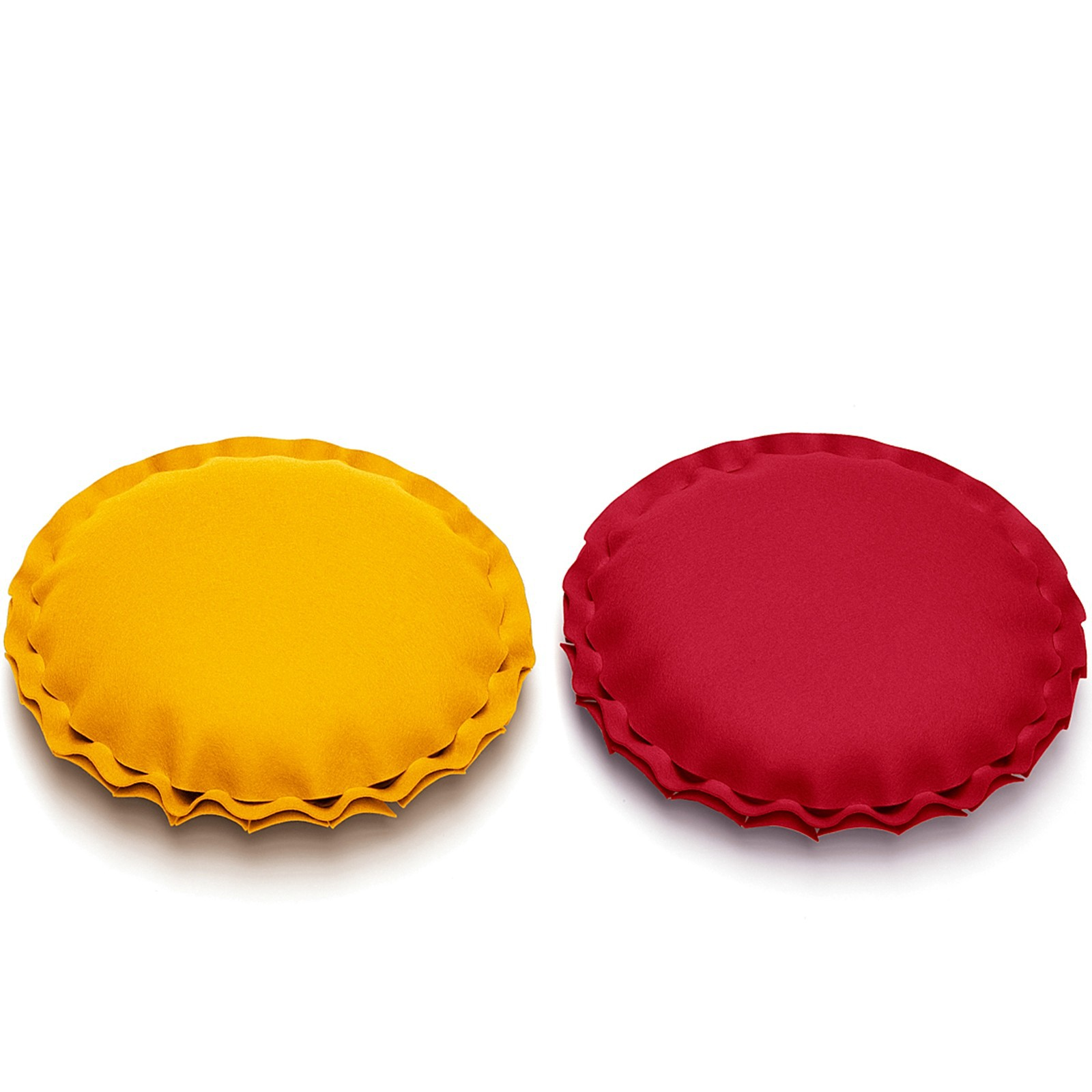 dekokissen kissen rund filz viele farben hey sign pai. Black Bedroom Furniture Sets. Home Design Ideas
