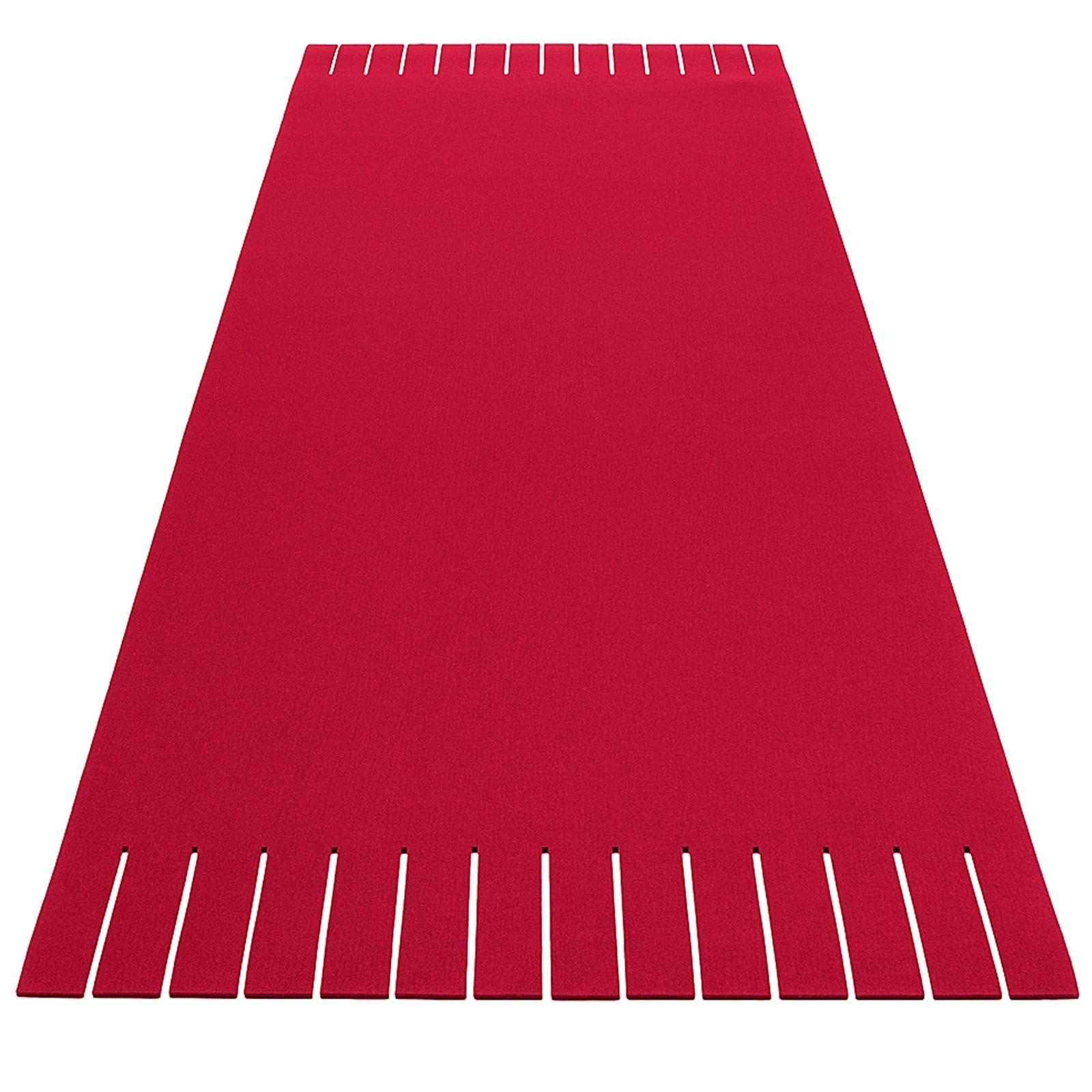 Teppich Filz rechteckig verschiedene Größen + Farben Hey