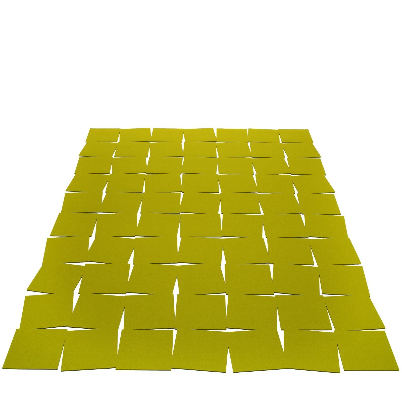 teppich filz rechteckig mit schlitzmuster viele farben. Black Bedroom Furniture Sets. Home Design Ideas